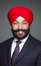 Navdeep Bains, Liberal MP for Mississauga--Malton ...